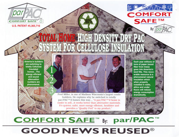 Total Home High Density Dry Pack System For Cellulose Insulation
